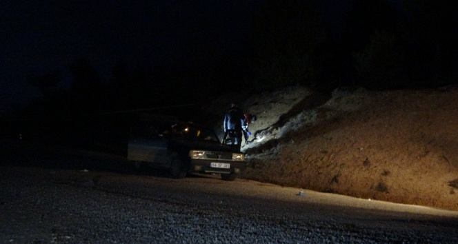 Uşak'ta husumetli iki aile arasında silahlı kavga: 1 ölü, 1 yaralı