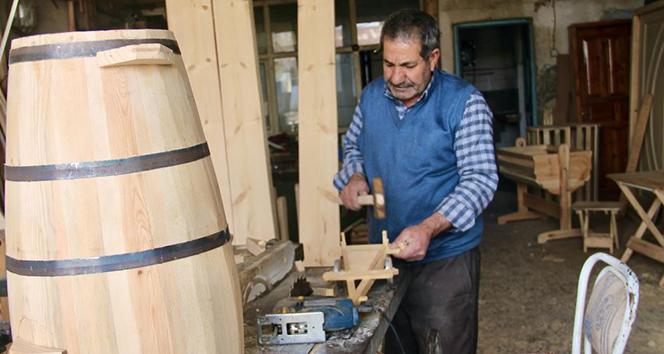 Usta ellerde üretilen 'Yayıklar' Türkiye'nin dört bir yanından talep görüyor
