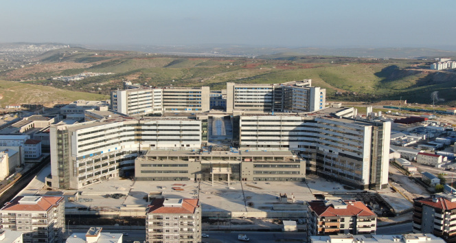 Gaziantep Şehir Hastanesi 2023'te hizmete girecek