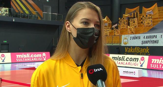 Meliha İsmailoğlu: 'Şampiyonluktan sonra CEV Şampiyonlar Ligi'ne çok daha motiveyiz'