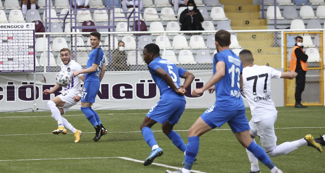 TFF 1. Lig: Keçiörengücü: 0 - Tuzlaspor: 1