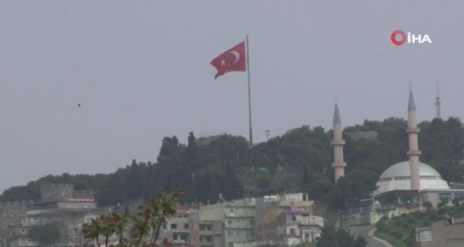İzmir'e çamur yağdı