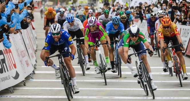 56. Cumhurbaşkanlığı Bisiklet Turu'nda Bodrum-Kuşadası etabı sona erdi
