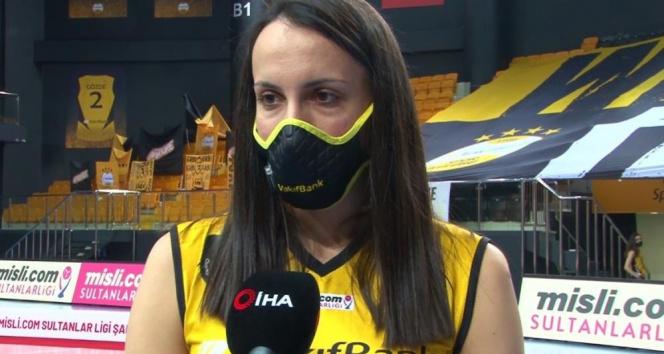 Milena Rasic: 'Motivasyonumuzu korumayı başardık ve mutlu sona ulaştık'