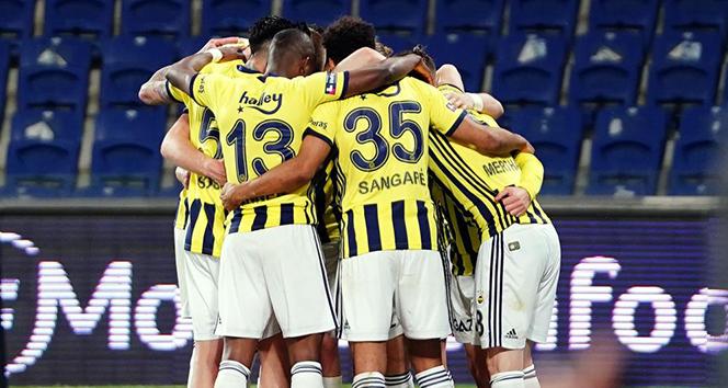 Fenerbahçe'nin saha içi istatistikleri yükselişte!