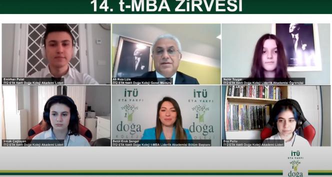 14. t-MBA Zirvesi'nde geleceğin liderleri iş dünyasının liderleriyle buluştu