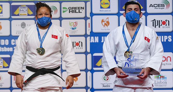 Büyükler Avrupa Judo Şampiyonası'nda üçüncü kez: