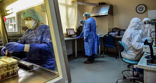 Türkiye'de son 24 saatte 11.937 koronavirüs vakası tespit edildi