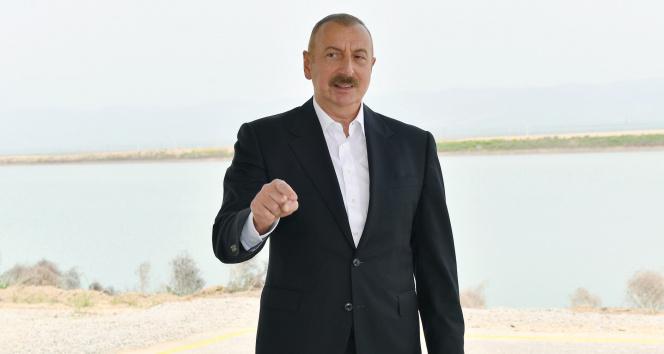 Azerbaycan Cumhurbaşkanı Aliyev: 'İskender-M füzesi ya Ermenistan'a teslim edildi ya da Rusya'dan çalındı'