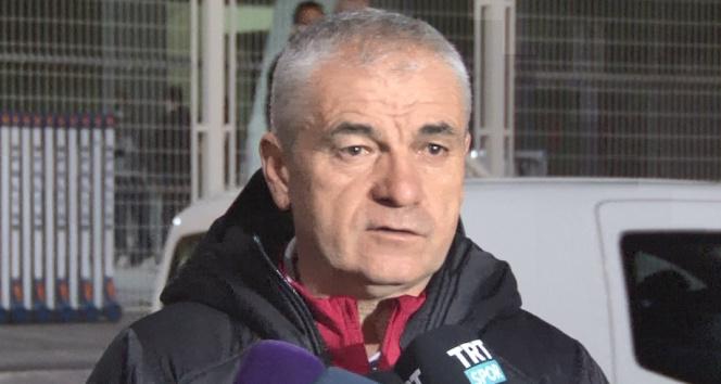 DG Sivasspor Teknik Direktörü Rıza Çalımbay: 'Beşiktaş'ı yensen ayrı, yenilsen ayrı'