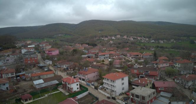 İstanbul'un 600 yıllık köyü havadan görüntülendi