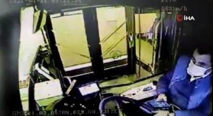 Beşiktaşta 1 kişinin öldüğü kazanın güvenlik kamera görüntüleri ortaya çıktı