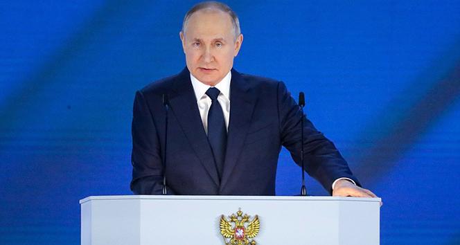 """Rusya Devlet Başkanı Putin: """"Provokasyonlara cevabımız sert olacak"""""""