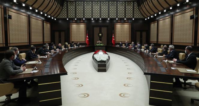 Cumhurbaşkanı Erdoğan, turizm sektörü temsilcilerini kabul etti