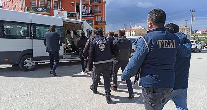 Hava Kuvvetleri eski personeli 4 FETÖ'cü, Keşan'da tutuklandı