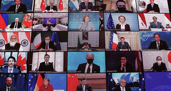 Liderler İklim Zirvesi'nde konuşmaya devam ediyor