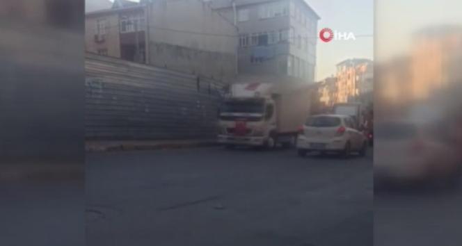 Avcılar'da asker uğurlama konvoyunda kamyondan silahla hava ateş açtılar