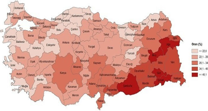 Doğu Anadolu Bölgesinde çocuk nüfusu dikkat çekiyor