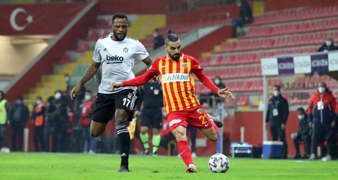 Kayserispor'un Beşiktaş deplasmanında yüzü gülmüyor!