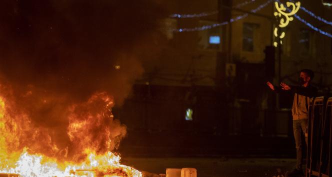 İsrail güçlerinin Kudüs'te teravih sonrası saldırısında yaralı sayısı 105'e yükseldi