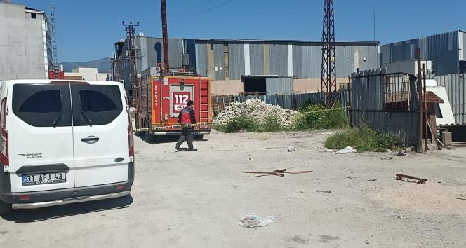 Hatay'da oksijen tüpü patlaması: 1 işçi hayatını kaybetti