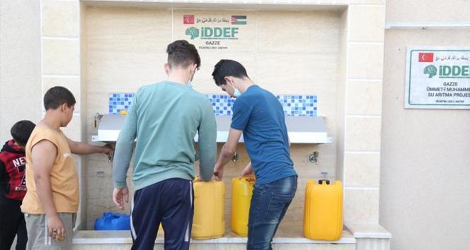 İDDEF'in su arıtma projesi binlerce Filistinli vatandaşı temiz suya kavuşturdu