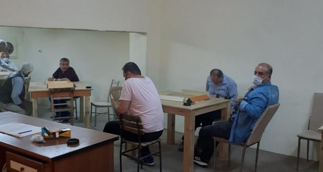 Kumar oynayan 10 kişiye 31 bin 500 lira para cezası