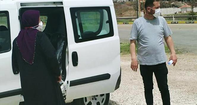Riskli grubundaki karı-koca, uygulama noktasında yakalandı: 4 bin 50'şer lira ceza uygulandı