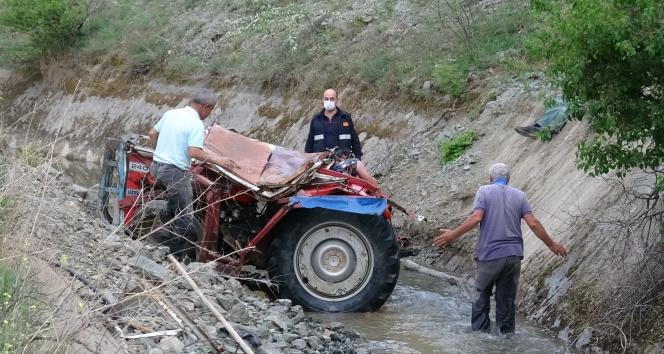 Traktörün altında kalan genç çiftçi hayatını kaybetti