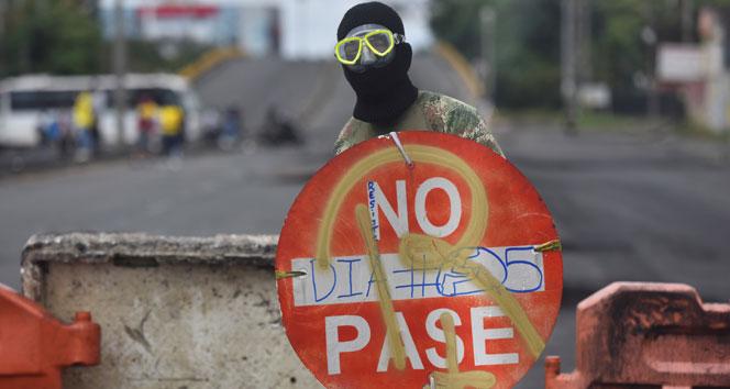 Kolombiya'daki protestoların bilançosu belli oldu: 17 ölü, 846 yaralı