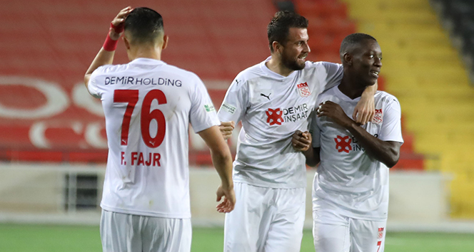 Sivasspor ligde 14 kez kazandı