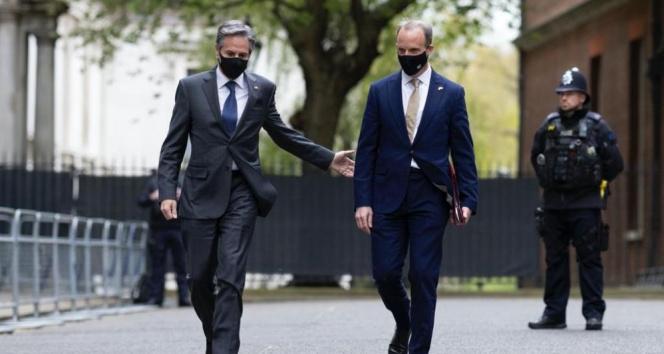 ABD Dışişleri Bakanı Blinken ve mevkidaşı Raab'tan Çin ve Rusya vurgusu