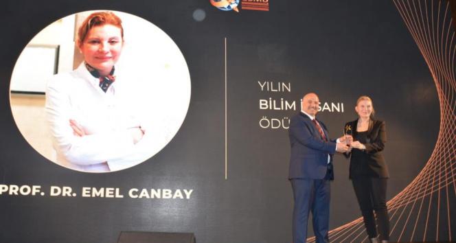 Prof. Dr. Emel Canbay, Bilim Ödülü'ne layık görüldü