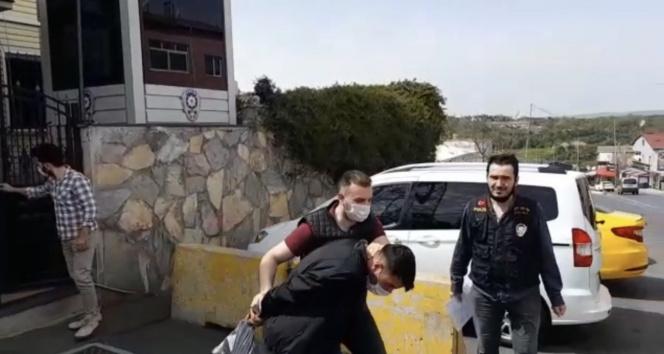 Sarıyer'de yardım dağıtma görünümünde uyuşturucu satan torbacı yakalandı