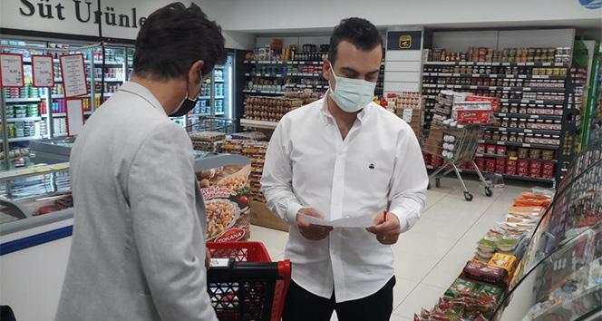 Ünlü radyocular Sultangazili vatandaşların market alışverişini yaptı