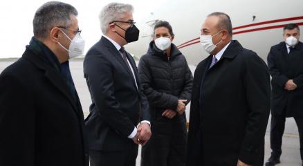 Dışişleri Bakanı Çavuşoğlu Almanyada