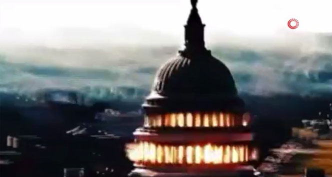 İran televizyonları, ABD kongre binasının havaya uçurulduğu propaganda videosu yayınladı