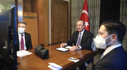 Dışişleri Bakanı Çavuşoğlu, Almanya İçişleri Seehoferle görüştü