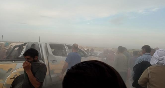 Suriye'de mülteci kampında patlama: 5 yaralı