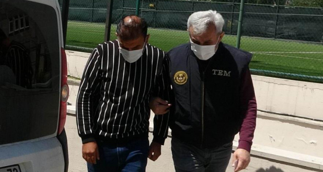DEAŞ'tan gözaltına alınan yabancı uyruklu şahsa yurt dışı yasağı