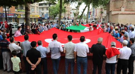 İsrailin Mescid-i Aksa saldırısına Adanadan tepki