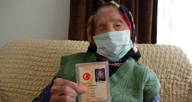 O Trabzon'un en yaşlı annesi