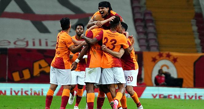 Galatasaray galibiyet serisini 4'e çıkardı
