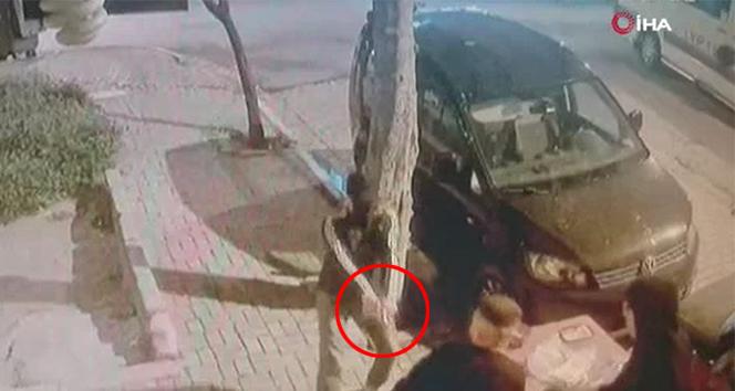 Avcılar'da silahlı saldırı kamerada