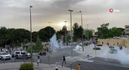 İsrail güçleri, Kudüste Filistinlilere saldırdı