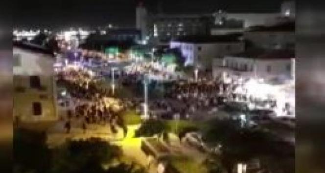 İsrail'in Hayfa kentindeki protestolarda 15 kişi gözaltına alındı