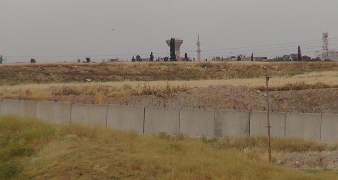 Suriye sınırı 'güvenlik duvarı' ile örüldü