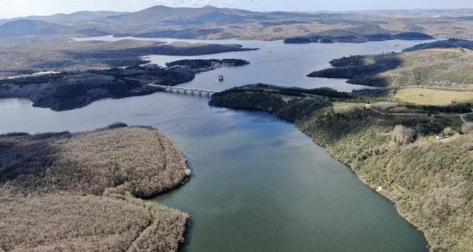 İstanbul'un barajlarında doluluk oranları düşüşe geçti