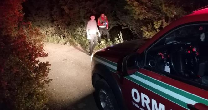 Orman işletme ekipleri gece devriyesiyle ormanlara sahip çıkıyor