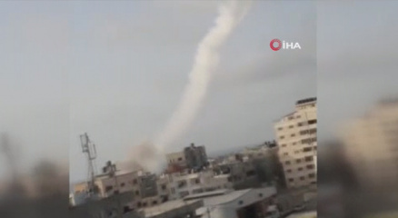 Kudüse 7 roket fırlatıldı